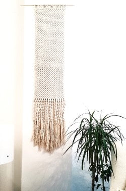 Lale Fiber Wall Art Hanging
