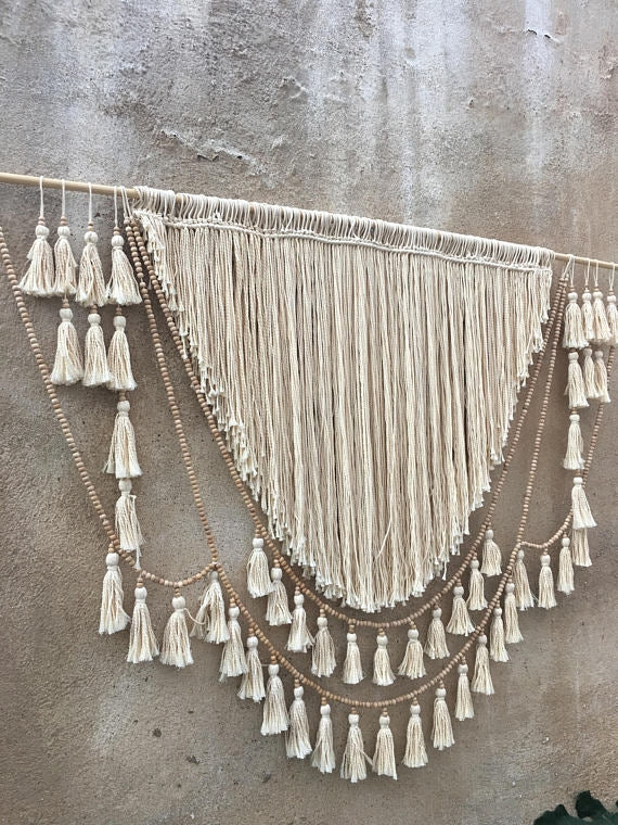 XL Turkish Macrame Hanging Goddess