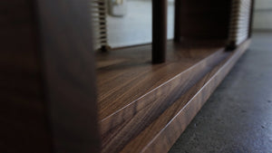 The Outpost Media Console-Black Walnut