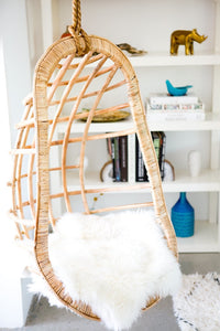All Natural Hanging Rattan Chair