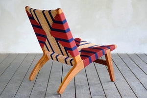 Sol Woven Lounge Chair