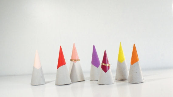 Colores Glazed Ring Cone