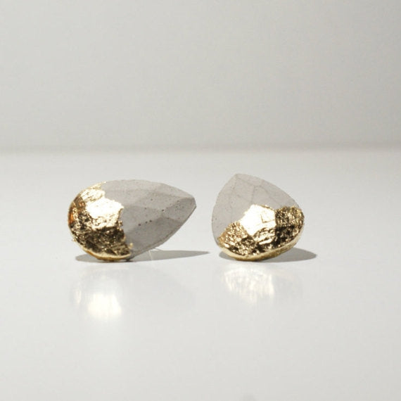 Minimalist Diamond Shape Studs