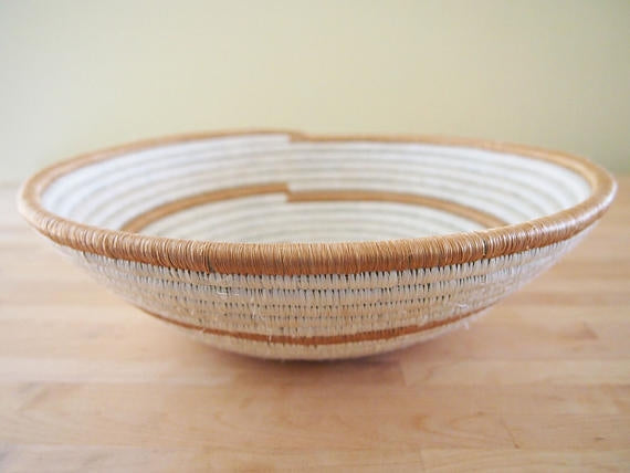 The Boy Sisal Sweetgrass Basket - 12""