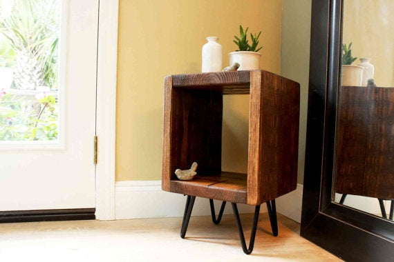 Hairpin Side Tables + Plant Stands-Set of 2