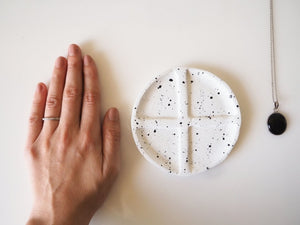 Maltan Clay Speckled Jewelry Dish
