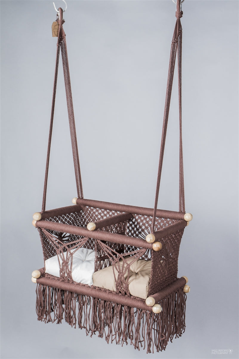 Madero Macrame Twin Baby Hanging Chair