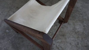 The OM Slingback Lounger-Black Walnut