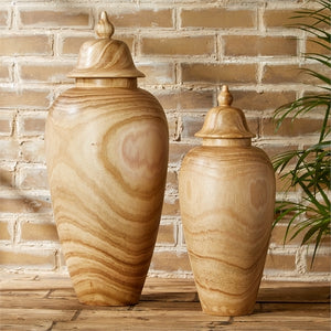 Handcrafted Temple Jars - Set of 2