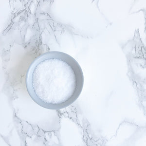 Gray + White Salt Cellar Pinch Bowl