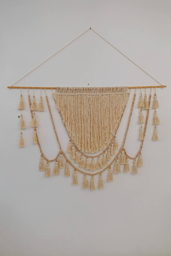 Turkish Macrame Goddess Hanging-Medium