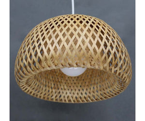 Double Bamboo Hat Pendant