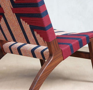 Plantation Wood Lounge Chair