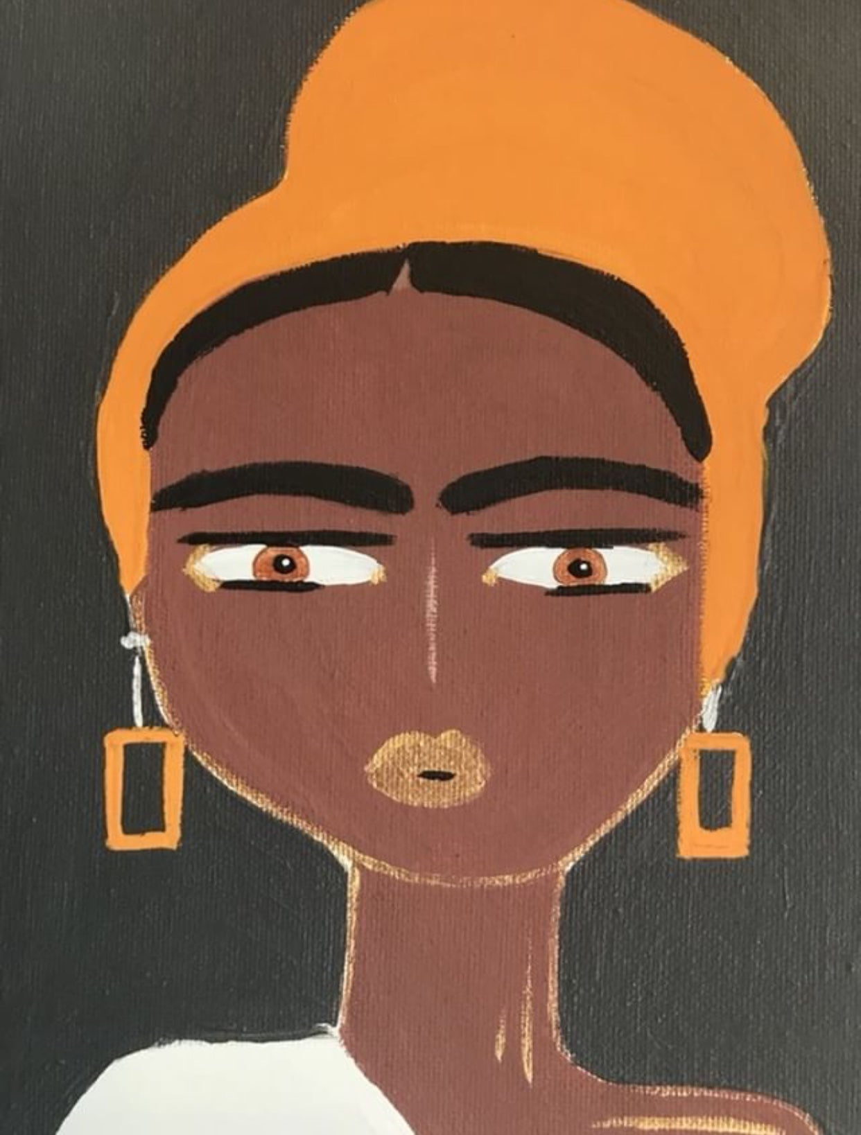 Tangerine – African Inspired Woman