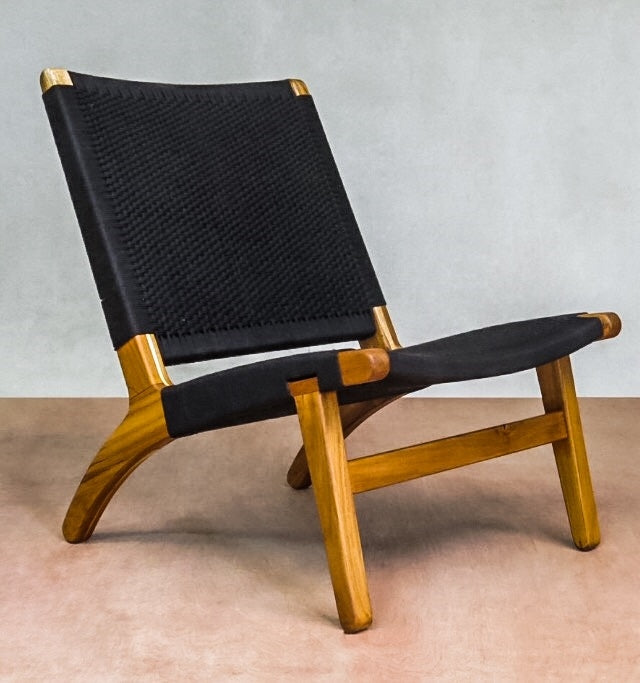 Midnight Woven Lounger Chair