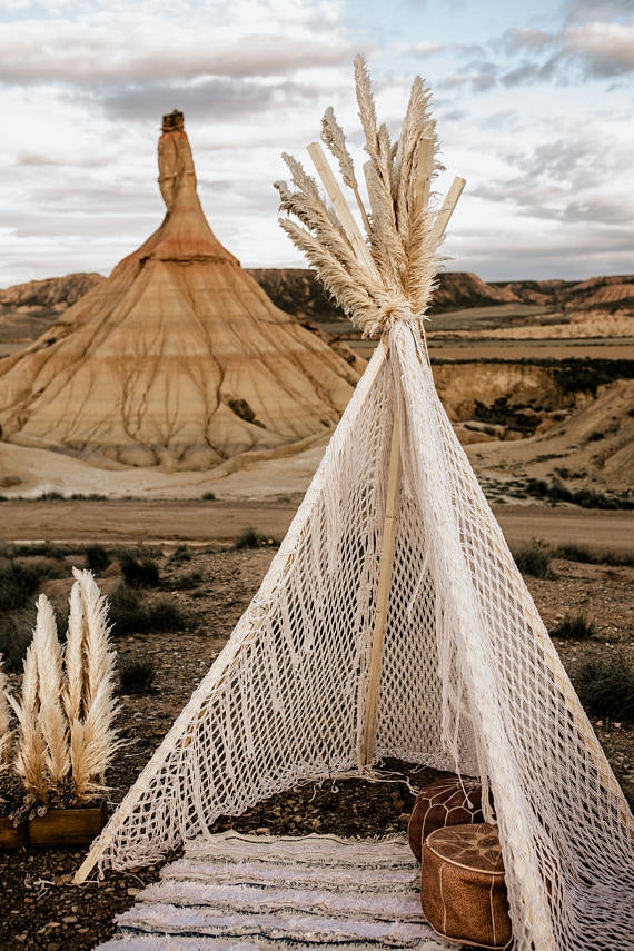 Turkish Macrame Teepee