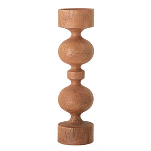 Mango Wood Candle Holder