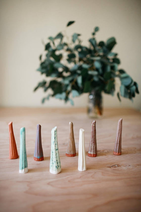 Red Clay Ring Cones