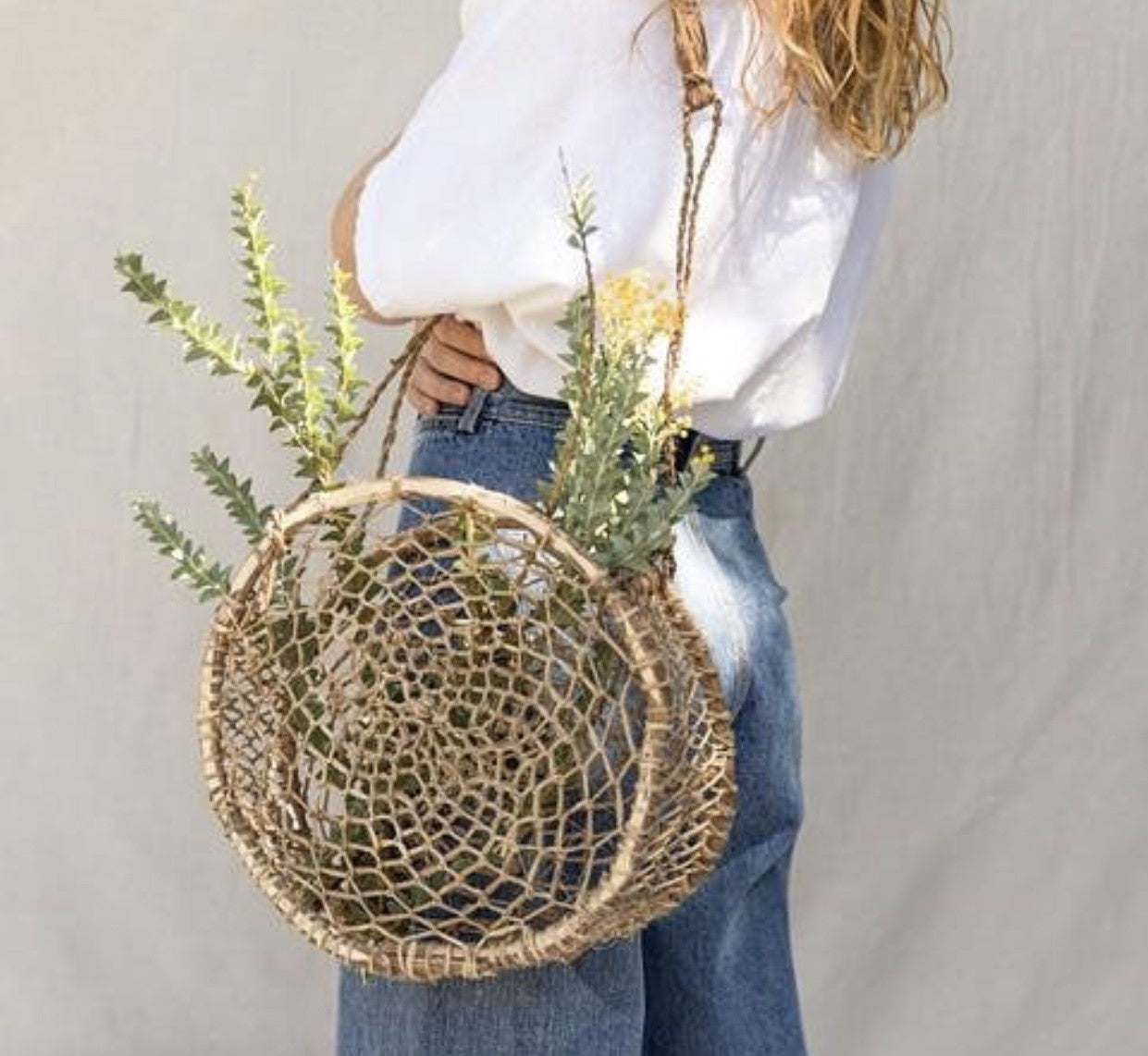 Barragana Basket Bag