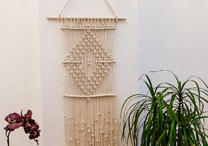 Diamond Rope Macrame Hanging