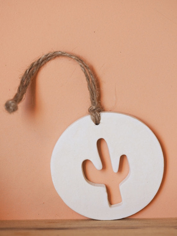 Ceramic Clay Cactus Decor/Ornament
