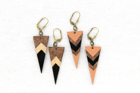 Dagger Point Boho Earrings