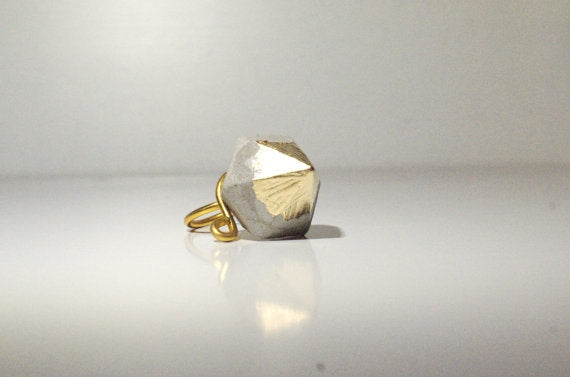Minimalist Gold Dipped Ring