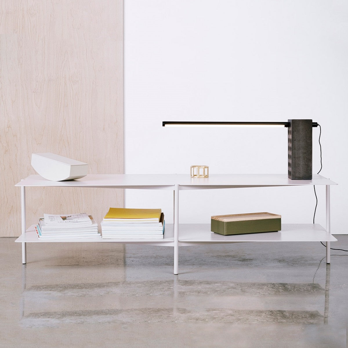 Modern 2 Tiered Coffee Table