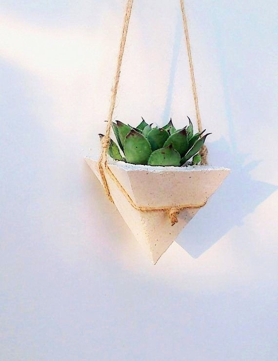 Blanca Hanging Cone Planters Set of 3