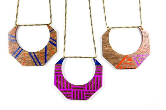 Aztec Fauna Necklace