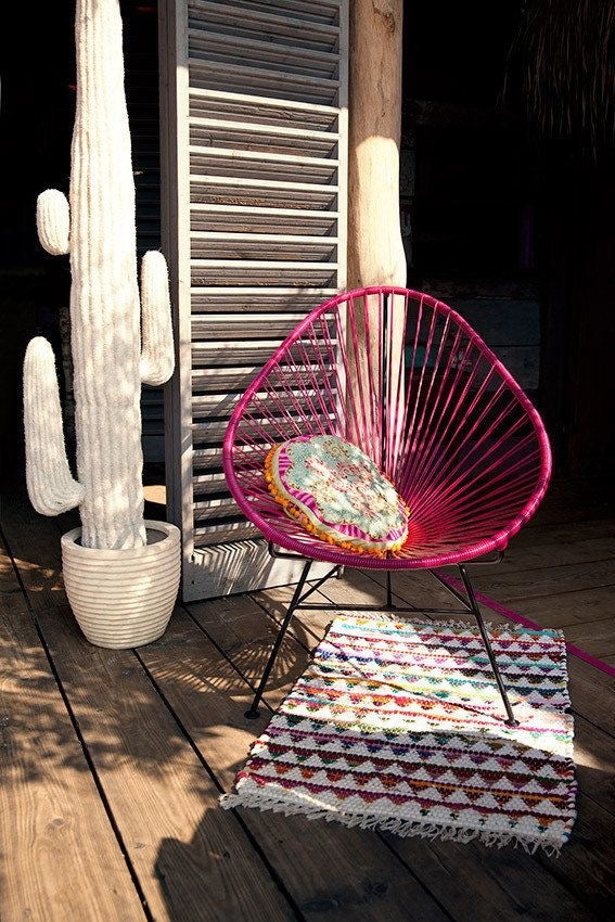 Acapulco Chair-Solid Color