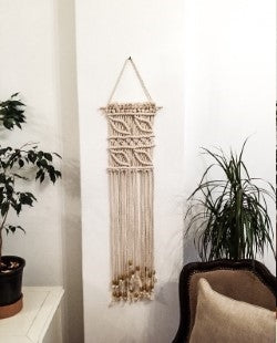 Evrin Turkish Beaded Wall Hanging