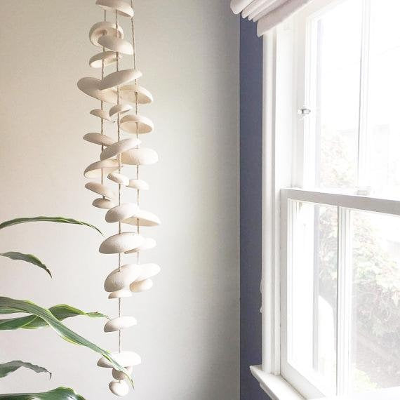 Half Moon Ceramic Chimes