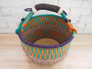 Tamale Market Basket with Handle