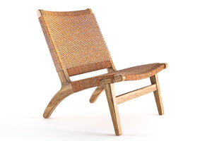 Manila Teak Lounge Chair