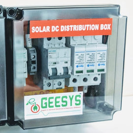 Solar DC distribution box 4-5kw 2 MMPT - Geesys make - AMPLIFY MART- Order Building Materials and Home Improvement Supplies Online
