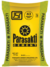 Parasakti - OPC 43 Grade - AMPLIFY MART- Order Building Materials and Home Improvement Supplies Online