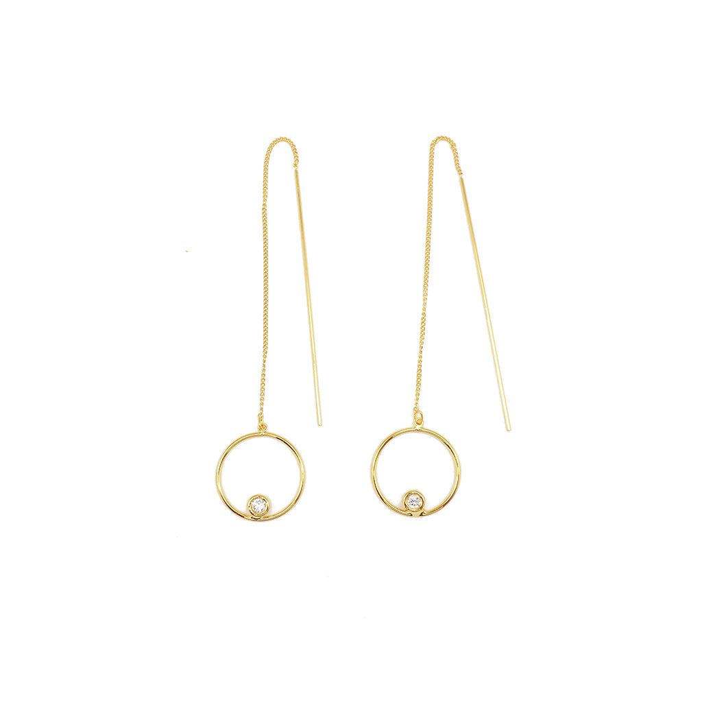 Tunique Planet Earrings