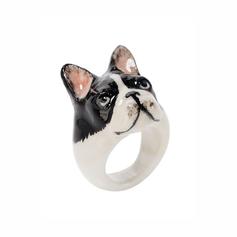 NACH BIJOUX French bulldog ring