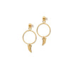 BDM Studio Wild Hoop Earrings