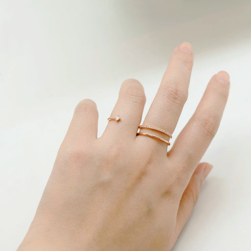 Tunique Between Fingers Ring
