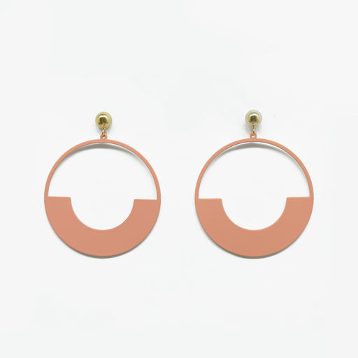 Tunique Modernist Hoop Earrings