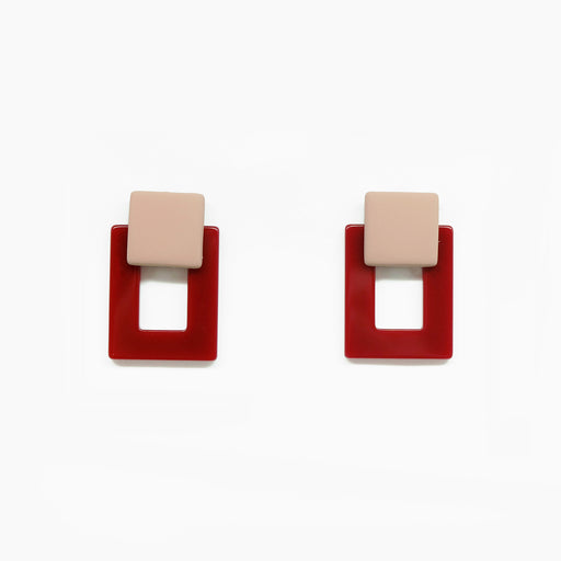 Tunique Ines Square Earrings