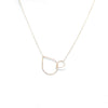 MAMETTE Silver Drop XL Necklace