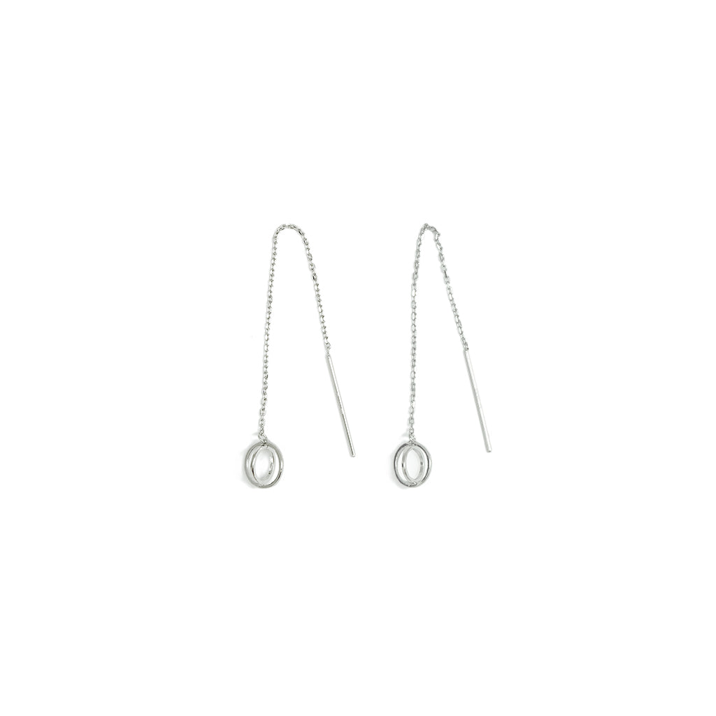 MAMETTE Silver Ball Earrings