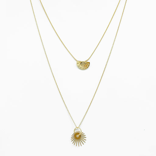 Tunique Solar 3 Necklace