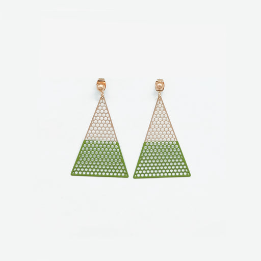 Tunique Triangle Earrings