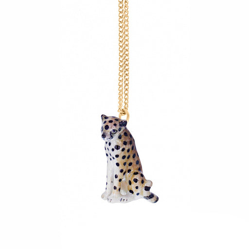 NACH BIJOUX Cheetah necklace gold