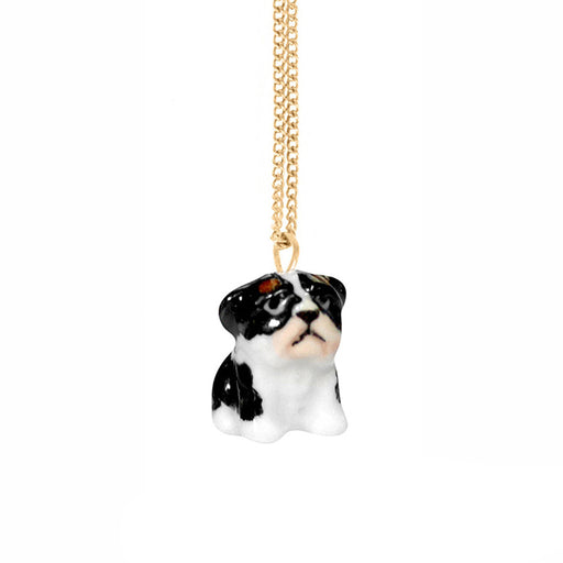 NACH BIJOUX French Bulldog necklace gold
