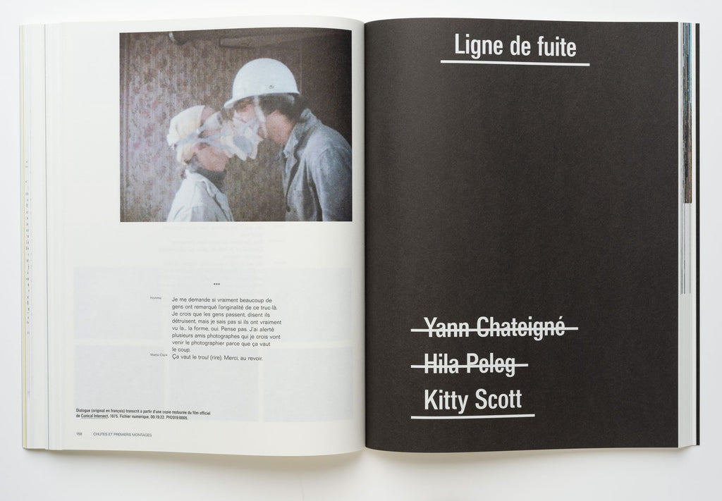 CP138 Gordon Matta-Clark: Readings of the archive by Yann Chateigné, Hila Peleg, and Kitty Scott